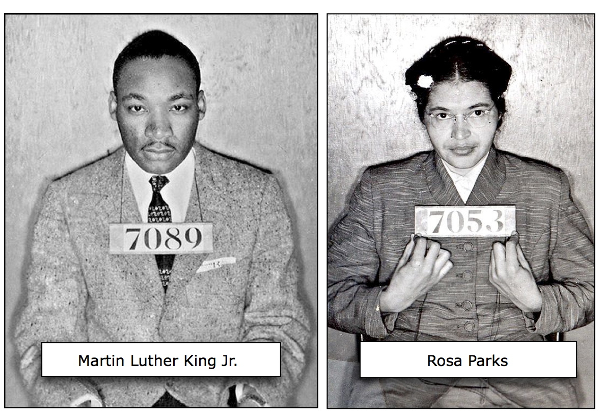 Martin Luther King Jr_Rosa Parks_Civil Disobedience