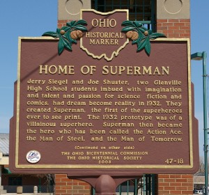 Superman's Birthplace is Cleveland Ohio