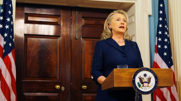 Hillary Clinton at Press Conference regarding US Embassy Attack