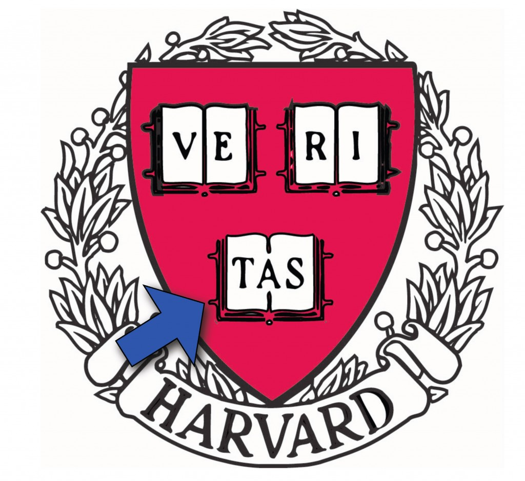 The Harvard University Shield in David Kirkpatrick's Travels in Transmedia