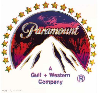 Warhol Rendering of Paramount Logo