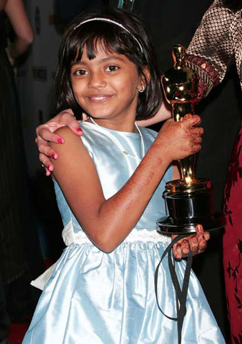 Rubina Ali at 2009's Oscars