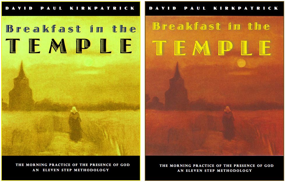 Breakfast in the Temple Covers