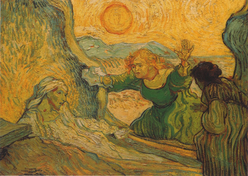 The Raising of Lazarus, 1890, Saint Remy