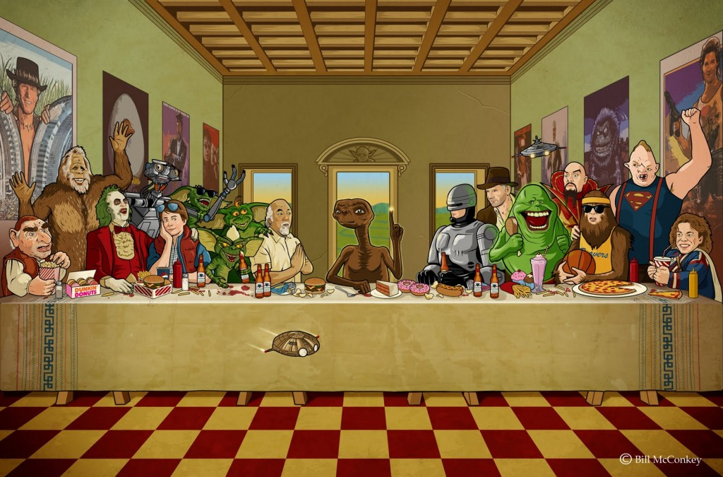 Last Supper Fresco by
