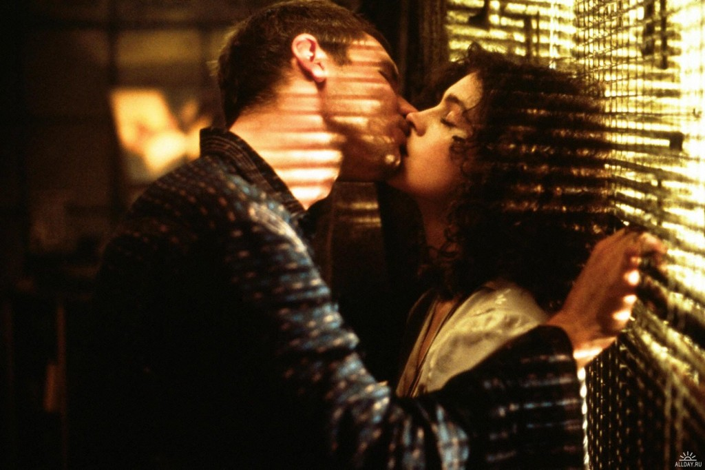 Man and Droid, Harrison Ford and Sean Young, Blade Runner