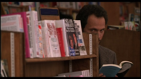 Billy Crystal picking up a girl in When Harry Met Sally