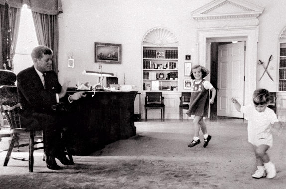 Dancing in the Oval Office of Camelot