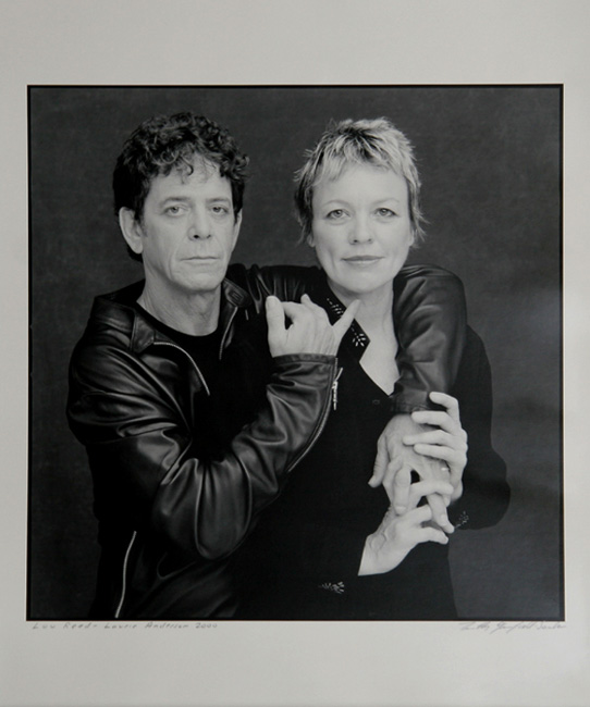 Lou Reed and Laurie Anderson - Photo by Timothy Greenfield