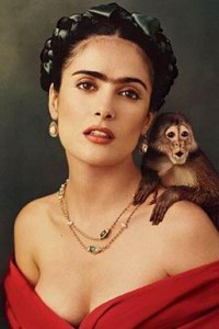Salma Hayek as Frida Kahlo