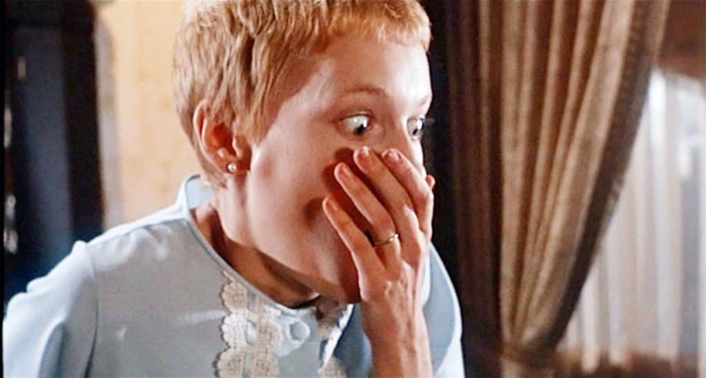 Mia Farrow in Rosemary's Baby,  the movie that inspired The Satanic Bible