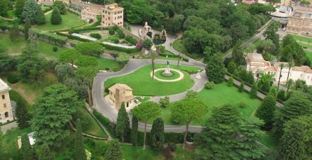 The Villas Near Vatican City