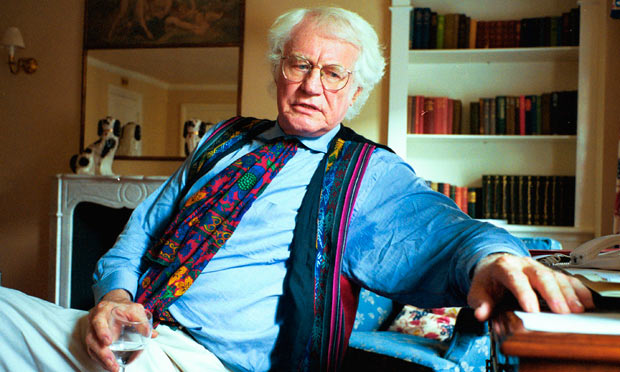 Robert Bly, 87, in his office
