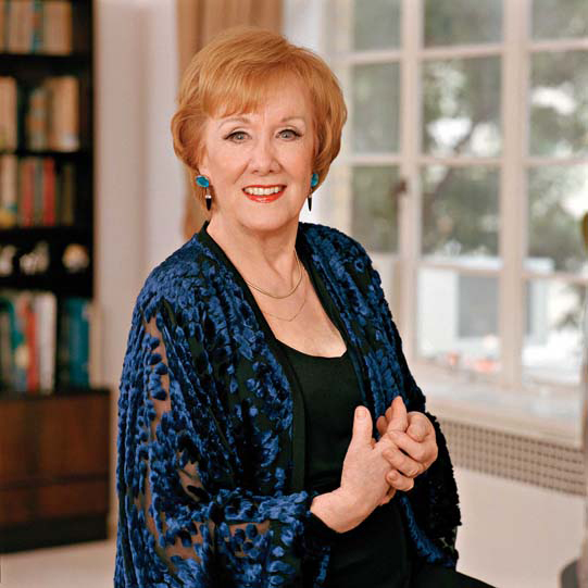 Marni Nixon at her home in New York